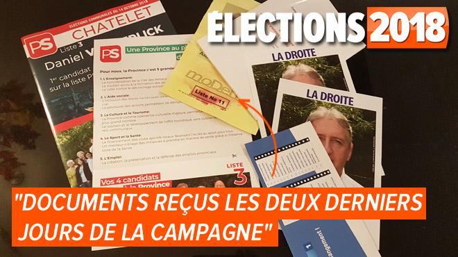 Campagne électorale: Jérôme s'interroge sur