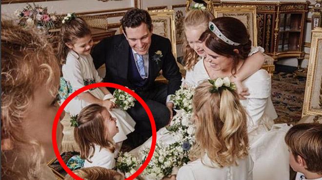 TROP MIGNONNE, la princesse Charlotte attire tous les regards sur un cliché partagé par la princesse Eugenie