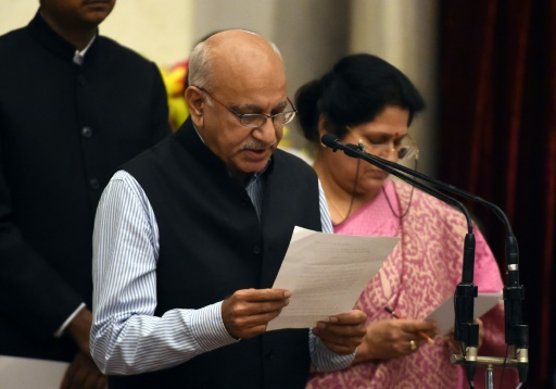 Première victoire de taille pour #MeToo en Inde avec la démission d'un ministre