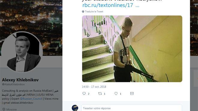 L'auteur présumé de l'attaque en Crimée (Russie) serait un élève de l'établissement- Il aurait imité les tueurs de Colombine 1