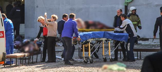 Attaque dans une école en Crimée (Russie): au moins 17 morts et plus de 40 blessés