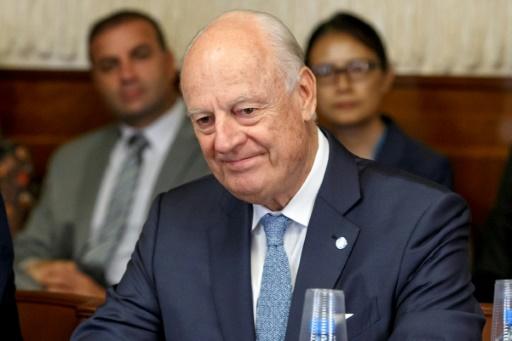Syrie: l'émissaire de l'ONU sur le départ, va à Damas la semaine prochaine