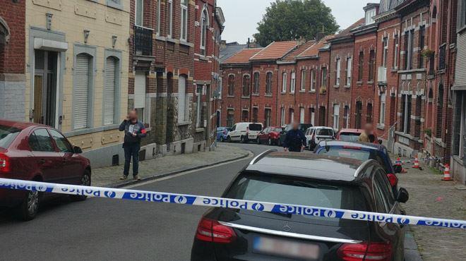 Violente rébellion à Liège- les suspects blessent un policier en fonçant sur lui avec leur voiture 1
