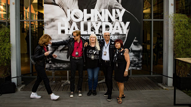 Johnny Hallyday : un film en préparation selon son manager