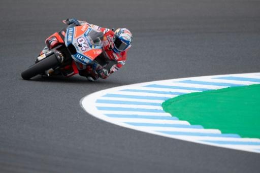 Moto: Dovizioso (Ducati) en tête des deux premières séances d'essais du GP du Japon