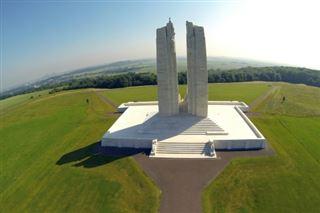 Les grands cimetières et sites commémoratifs de la Grande guerre