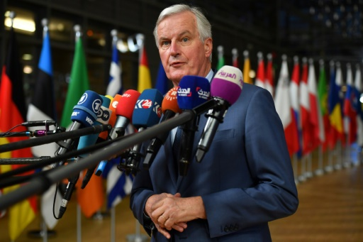 Brexit: la question irlandaise peut faire échouer l'accord, souligne Michel Barnier