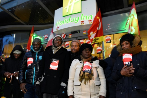 Grève à l'Holiday Inn de Clichy il y a un an: une victoire au goût