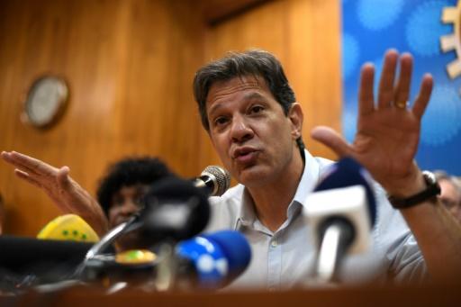 Brésil: Haddad craint que Rio ne devienne