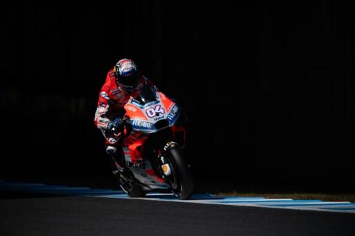 MotoGP: Dovizioso (Ducati) encore en tête aux essais libres 3 du GP du Japon
