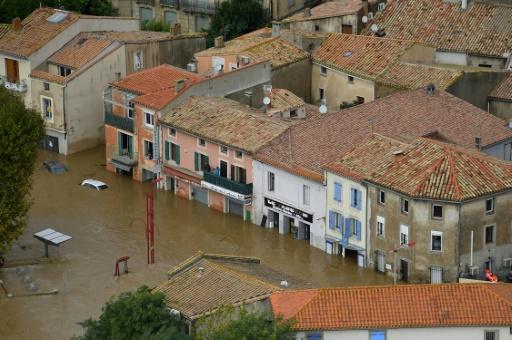 Inondations dans l'Aude: des dégâts