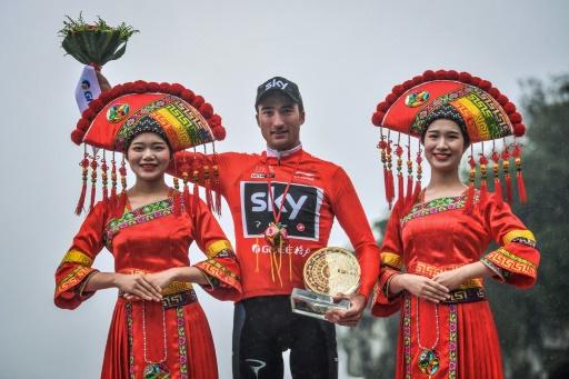 Le cycliste italien Gianni Moscon remporte le Tour de Guangxi