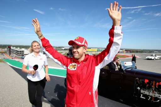 GP des Etats-Unis: Vettel s'accroche dès le premier tour
