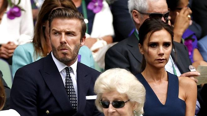 Grosse frayeur chez les Beckham: un raid d'hommes cagoulés filmé aux portes de leur manoir anglais