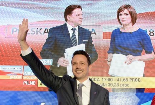 Elections locales en Pologne: les conservateurs en tête mais perdent à Varsovie