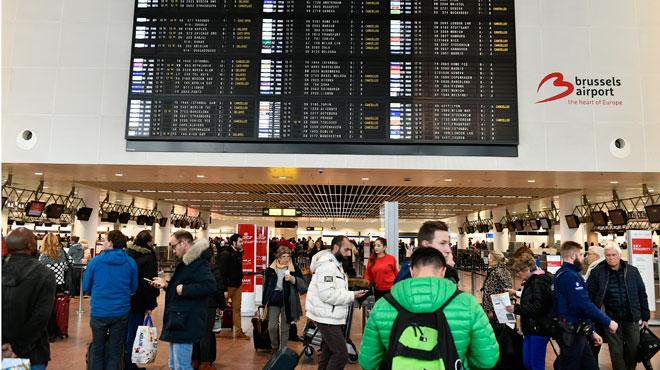 Reprise de l'action de zèle des douaniers à Brussels Airport: