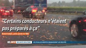 Accidents en cascade et énormes embouteillages ce matin: l'automne est aussi arrivé sur nos routes