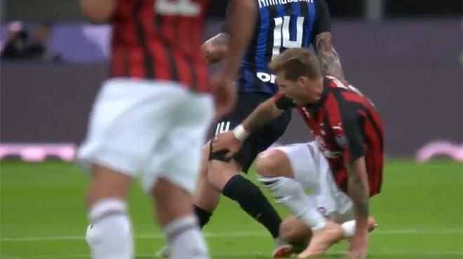 Keita Baldé absent du onze de départ — AC Milan
