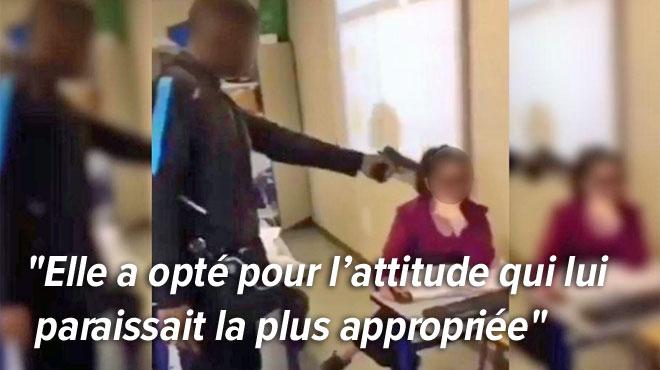"""SOCIETE › L'avocate de la professeure braquée en France : """"Elle n'est pas sortie de chez elle depuis, elle n'arrive pas à dormir"""" … RTL INFO"""