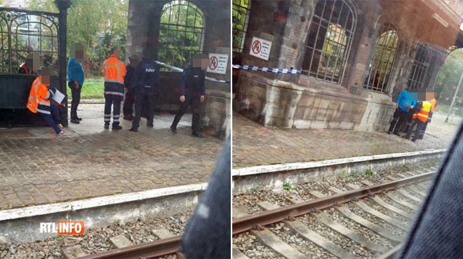 Un corps sans vie a été retrouvé dans la gare de Binche