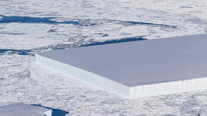 La NASA détecte un étrange iceberg en Antarctique