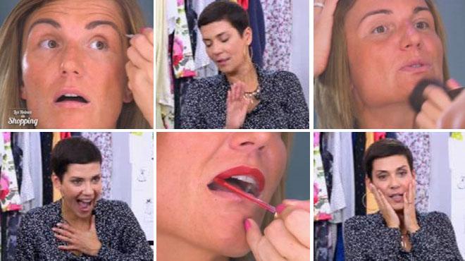 Audrey est esthéticienne, mais ne sait pas du tout comment se maquiller: