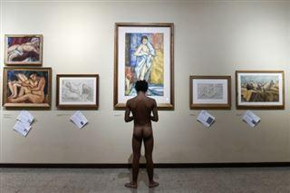 Un musée de Colombie expose ses nus aux nudistes