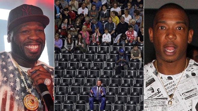 Cent achète 200 places d'un concert de son rival pour l'humilier