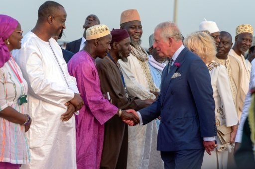Commonwealth: Charles and Camilla meanwhile in the Gambia An African Tour