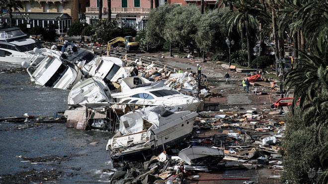 Des intempéries meurtrières ravagent l'Italie