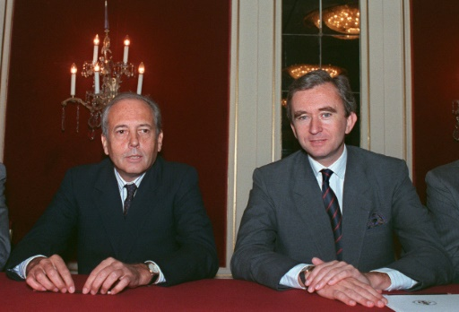 Death of Alain Chevalier, one of the two founders of LVMH