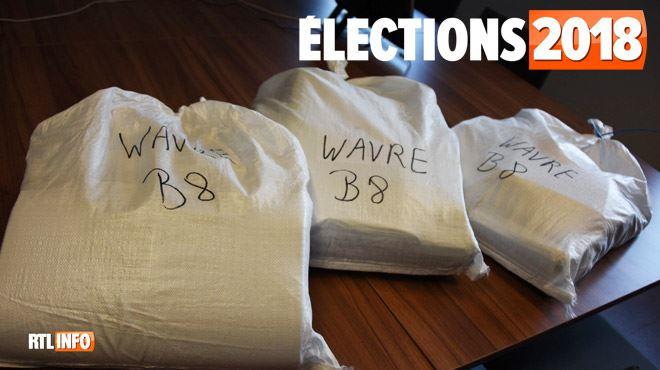 Elections 2018- le recomptage des voix est terminé à Wavre... et n'aura servi à rien