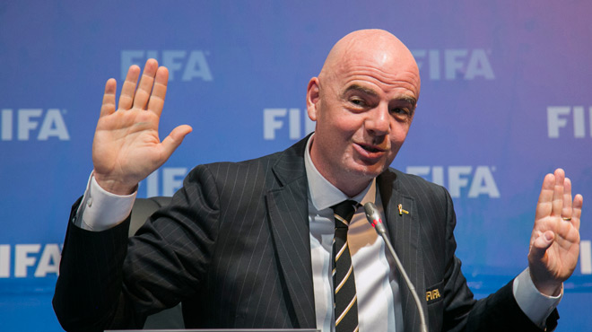 Football Leaks: la drôle de réponse du président de la FIFA