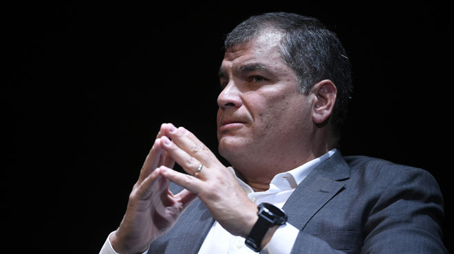 L'ancien président équatorien Rafael Correa n'a PAS demandé l'asile en Belgique, selon l'un de ses avocats