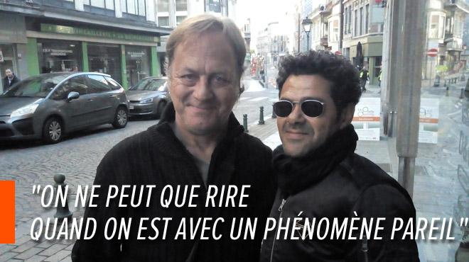 Fan de Jamel Debbouze, Luc a croisé l'humoriste par hasard à Liège: