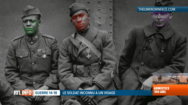 30.000 portraits ont été croisés: le Soldat inconnu a désormais un visage