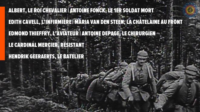 Portraits de guerre 1914-1918: ces hommes et femmes belges qui se sont montrés héroïques