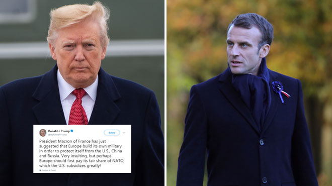 Tensions en vue: Donald Trump s'en prend avec virulence à Emmanuel Macron