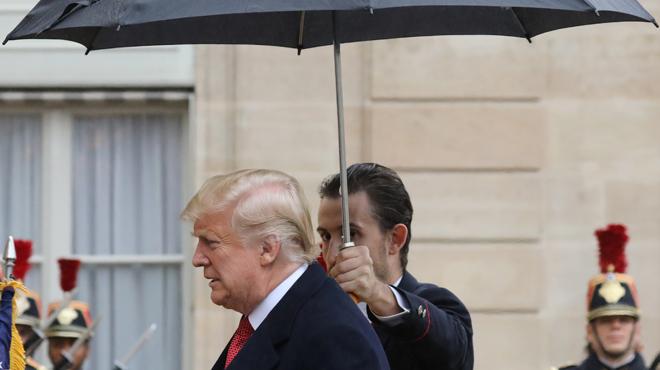 11-Novembre: Trump critiqué pour l'annulation de sa visite au cimetière américain