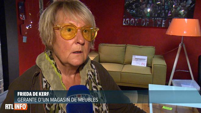 Frieda revient sur le cauchemar vécu lors des émeutes à Bruxelles: