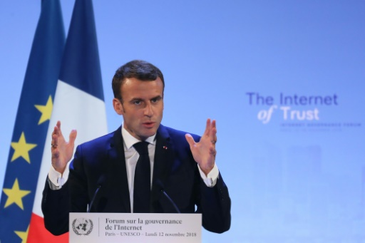 L'appel d'Emmanuel Macron à sécuriser le cyberespace