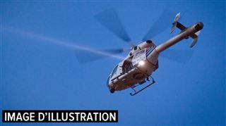 Un homme fonce sur un combi de police avant de prendre la fuite- Déploiement de forces de police et hélicoptère à Fontaine Valmont 4