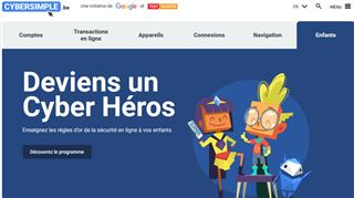 Une campagne d'envergure pour renforcer la cybersécurité des enfants en Belgique- faites le test !