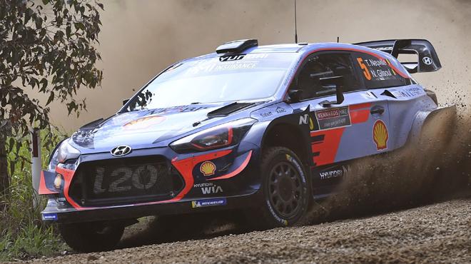 Thierry Neuville remonte 8e après la 16e spéciale — WRC Australie