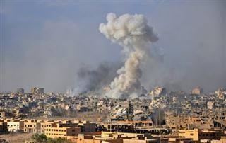 Syrie- 43 morts en majorité des civils dans des raids de la coalition anti-EI