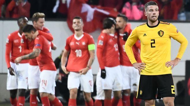 Terrible désillusion- les Diables Rouges, étouffés par la Suisse, ne participeront pas au carré final de la Ligue des Nations (vidéo) 1