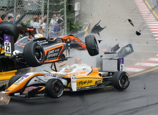Accident terrifiant au Grand Prix de Macao