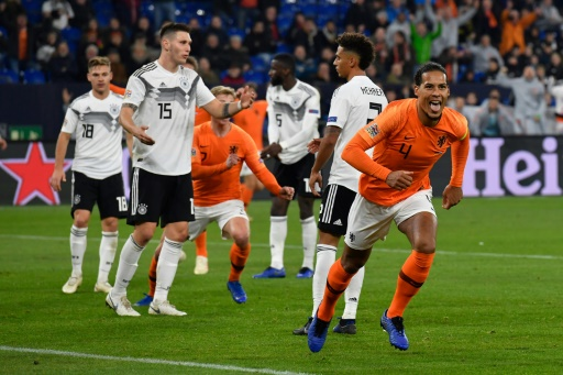 League of Nations: The Netherlands defeated the Formal Former Uruguay in Germany