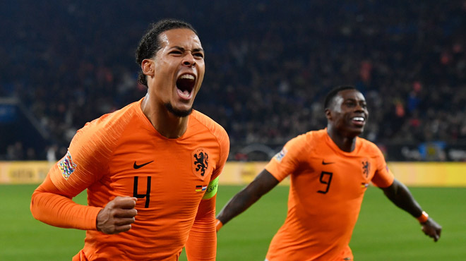 Ligue des Nations: en 5 minutes, les Pays-Bas marquent deux buts contre l'Allemagne et éliminent la France