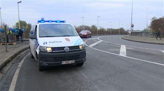 Malgré le périmètre de sécurité contre les gilets jaunes, la situation dégénère à Wandre- la E25 bloquée 2